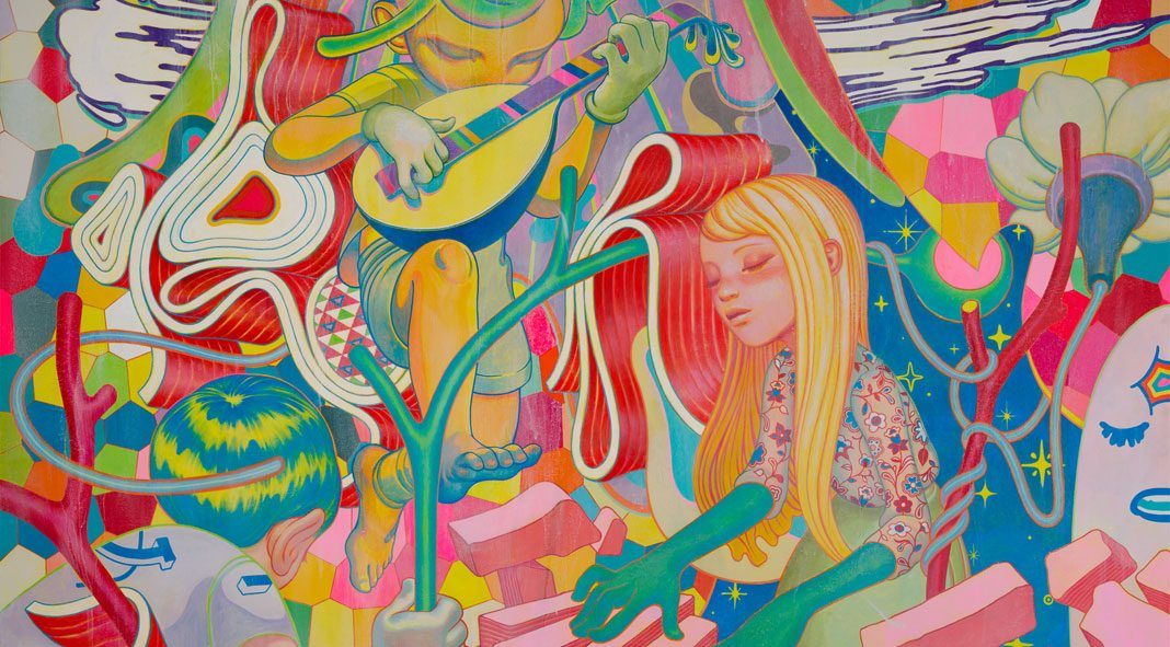 James Jean Illustrative Art 1068x591