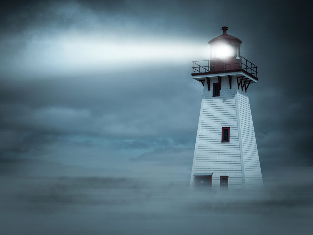 Lighthouses Night Fog 465001 2048x1536